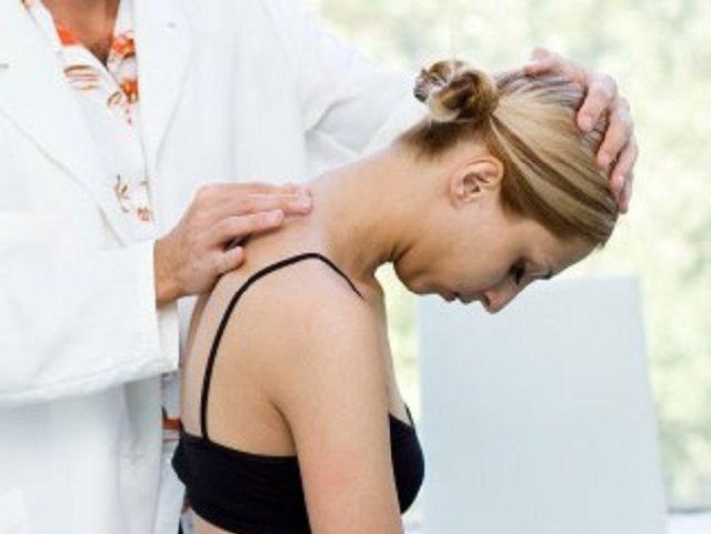 Остеохондроз сильно напряжены шейные мышцы